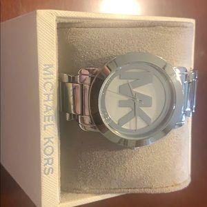 Silver MK Womens Watch